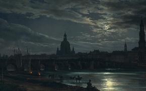 ultrawide, classic art, Dresden