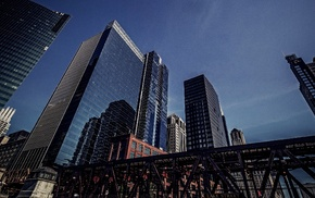 skyscraper, urban