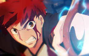 FateStay Night, Shirou Emiya, anime, Unlimited Blade Works