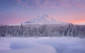 winter, mountain