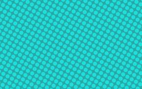 polka dots, cyan, Tile