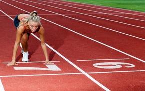 girl, sports, athletes