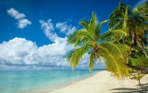 white, sea, landscape, tropical, nature, beach