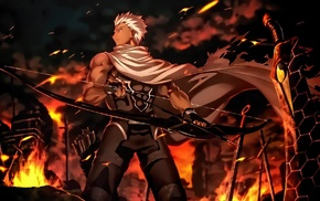 Fate Series, sword, FateStay Night Unlimited Blade Works, Archer