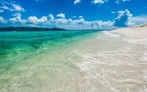 British Virgin Islands, sandy cay island, landscape, beach, tropical