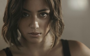 Chloe Bennet, actress, face, girl, closeup