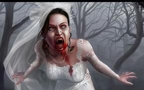 artwork, vampires, blood