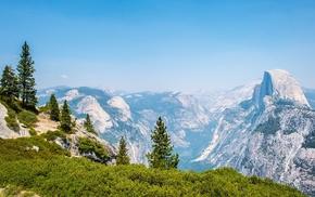 landscape, Yosemite Valley, mountain, California