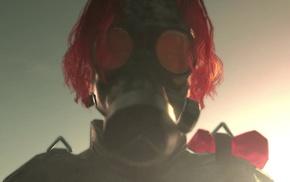 Metal Gear Solid, redhead, gas masks, Metal Gear Solid V The Phantom Pain