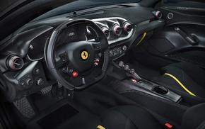 Ferrari F12 TDF, car, dashboards, car interior