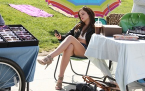 girl, high heels, Emma Watson, brunette, actress, celebrity