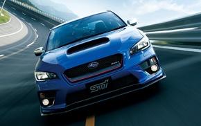Subaru Impreza WRX STi, race tracks, car