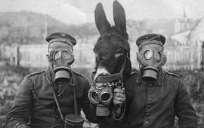 gas masks, World War I