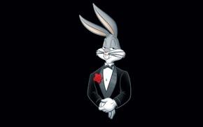 smokin, Looney Tunes, rabbits, suits, cartoon, Bugs Bunny
