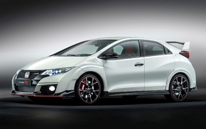 car, Honda, honda civic type r