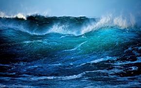 waves, sea