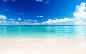 sea, tropical, beach, landscape