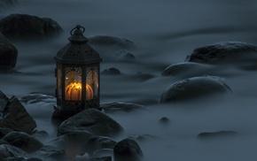 candles, lantern