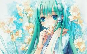 Touhou, anime, Kochiya Sanae