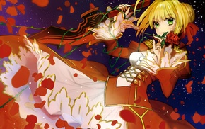 FateExtra, Saber Extra, Fate Series, Empress Nero