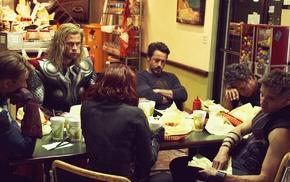 Captain America, The Avengers, Iron Man, Hawkeye, Black Widow, Thor