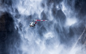 USA, flying, helicopters, Yosemite National Park, nature, rock