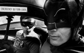 Adam West, Batman, Bill Ward