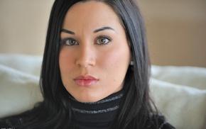 pornstar, face, Valentina, black hair