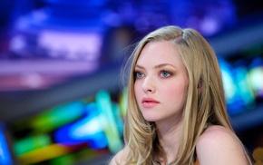 blue eyes, blonde, Amanda Seyfried, girl, actress