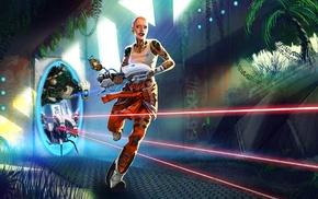 Portal 2, Jack Mass Effect, video games, Portal, artwork, Mass Effect