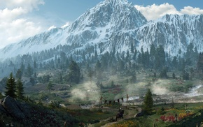 nature, landscape, photography, The Witcher 3 Wild Hunt, The Witcher, ultrawide