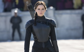 girl, archers, Jennifer Lawrence, The Hunger Games