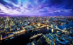 city, London, cityscape