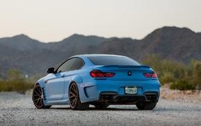 car, blue, Prior Design, BMW, Vossen, BMW 650i