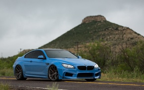 Vossen, BMW, car, blue, Prior Design, BMW 650i