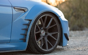 blue, Vossen, Prior Design, BMW, car, BMW 650i