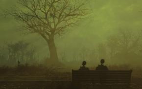 love, Fallout, mist, Fallout 4, nuclear, radiation