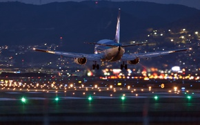 aircraft, airplane, airport, landing