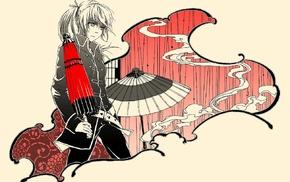 anime, anime girls, Gintama, Japanese umbrella