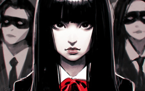 black hair, fan art, Ilya Kuvshinov, Kill Bill