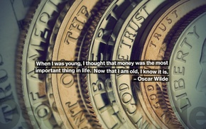 quote, money, coins