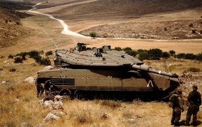 tank, Merkava Mark IV, peace, Israel Defense Forces, military