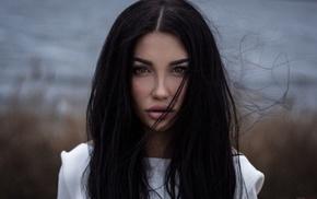 face, portrait, juicy lips, girl