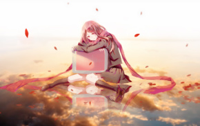 anime girls, anime, Kagerou Project, scarf, Tateyama Ayano