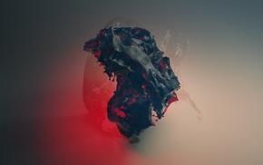 liquid, CGI, digital art