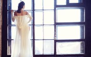 model, dress, girl
