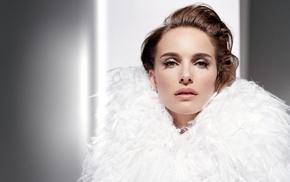 actress, Natalie Portman, feathers