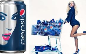 Pepsi, blonde, Beyonc, girl