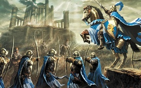 artwork, knight, Heroes of Might and Magic, fantasy art, Heroes of Might and Magic III, video games