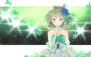 anime, hair ornament, dress, anime girls, Takagaki Kaede, short hair